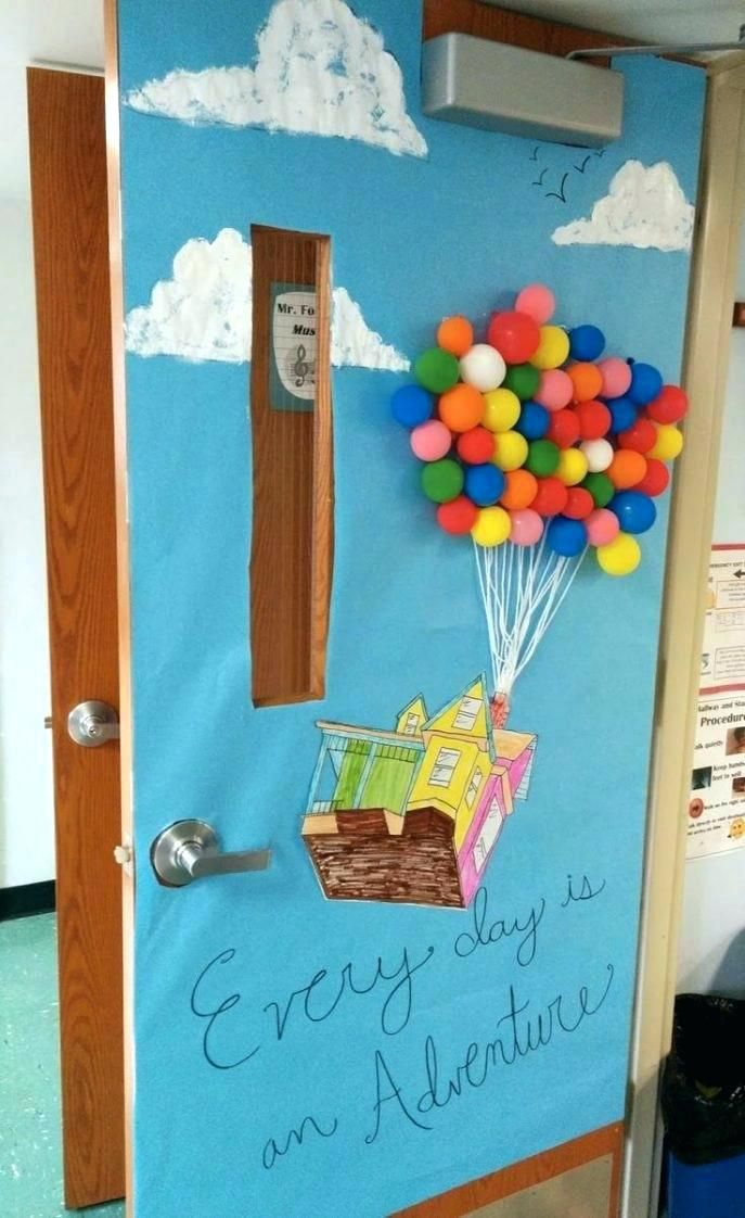 Door Decorations Ideas Summer Decorating For Office About Classroom On Medium Size Christmas Spring Classroom Door Disney Classroom Door Decorations Classroom
