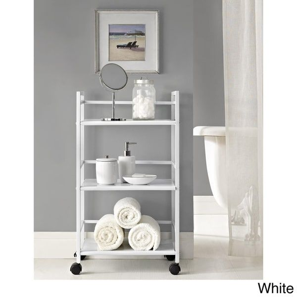 Ameriwood Home Marshall 3-shelf Rolling Utility Cart