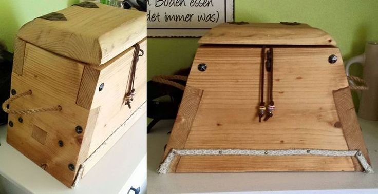 our first viking chest :) (handcraftbox)  erster Versuch einer Wikingerkiste (Handarbeitskiste)