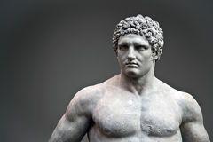 Statue of Hercules Stock Image