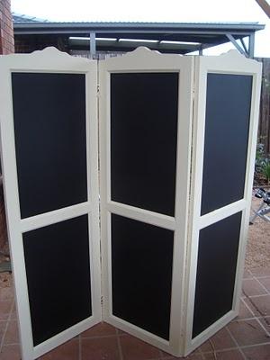 Subarashiiblog Daftly Diy Chalkboard Dressing Screen