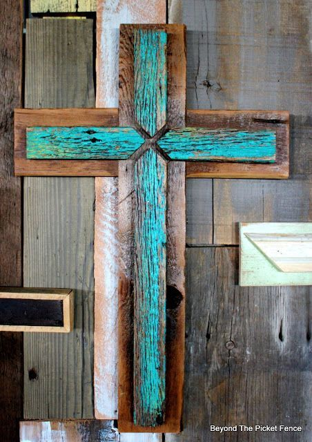 MORE Rustic Crosses and Finding Waldo