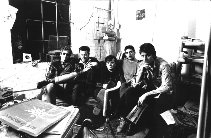 Blue Rodeo (1989, at rehearsal space)