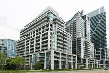 $268,413 #Condo #For #Sale - 1 bedroom - #Toronto #Mimico - ImImaculate South Facing 1 Bed, 1 Bath Condo W/Great Views Of The Lake. Granite Counter Tops, Upgraded Ss Appliances, Mirror Backsplash, Front Loader Washer And Dryer, Walk-In Closet With Mirror Sliders And Two W/O To A Very Private South Facing Balcony. Slate Flooring In The Foyer And Laminate Flooring In Living/Dinning Area. Exceptional Amenities Include Theater & Massage Room.