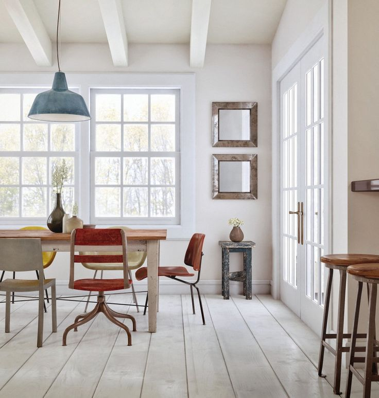 Dining Room Ideas:Vintage Dining Room Design Dominate With Wood Fresh White Established Dining Spaces