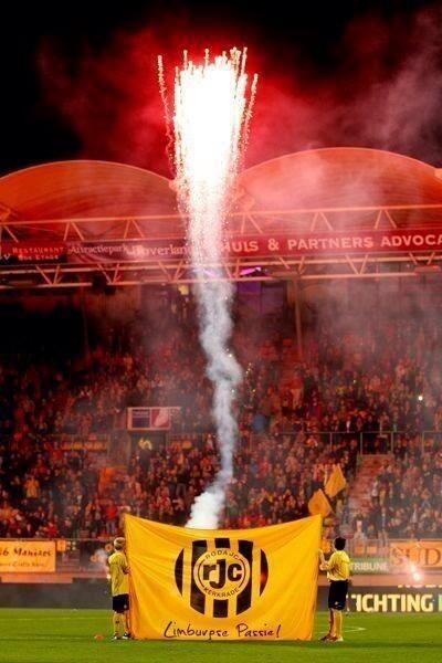 Roda JC altijd Vuurwerk