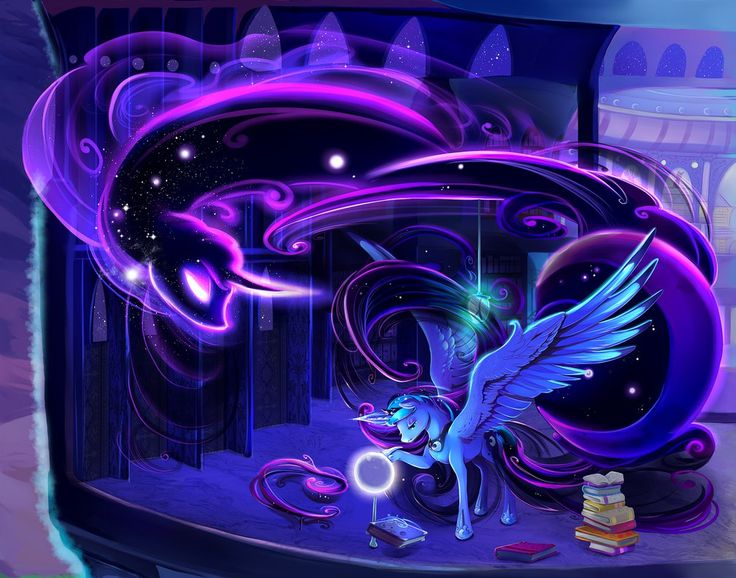 Princess Luna - Full by viwrastupr.deviantart.com on @DeviantArt