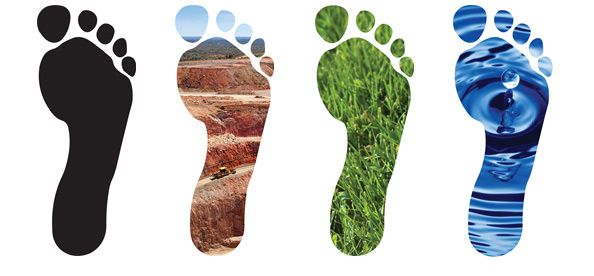 The four footprints