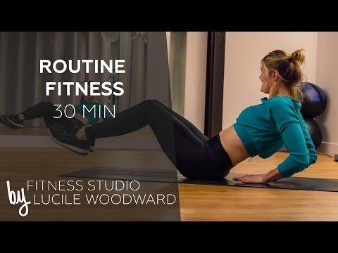 Routine Fitness sans matériel (30 min) - FITNESS STUDIO BY LUCILE - YouTube