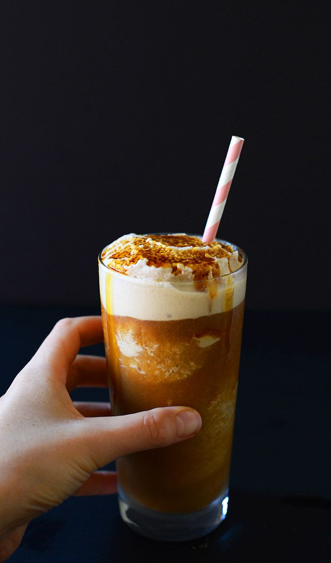 how to make mcdonalds caramel frappe at home