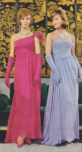 Jacques Heim dresses - 1961 Oh bridesmaid companies,  I see where you got your inspiration from.