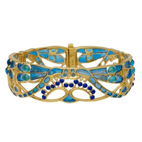Parisian Art Nouveau Dragonfly Bracelet   Supernatural Style