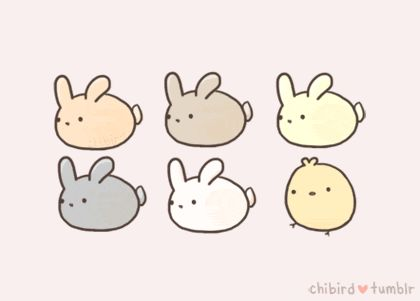 69 best kawaii images on pinterest cute things draw and drawings sweet bunny gif sent to me by brittany ccuart Gallery