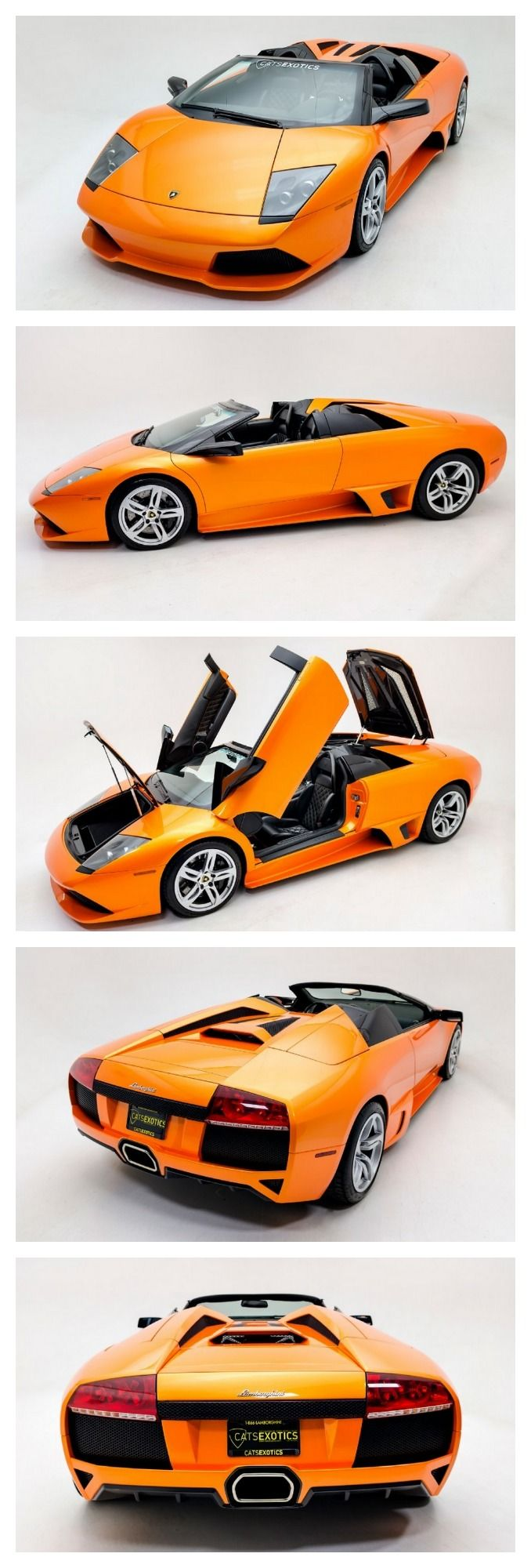 Wow! Check out this exquisite Lamborghini Murcielago convertible #TurboTuesday