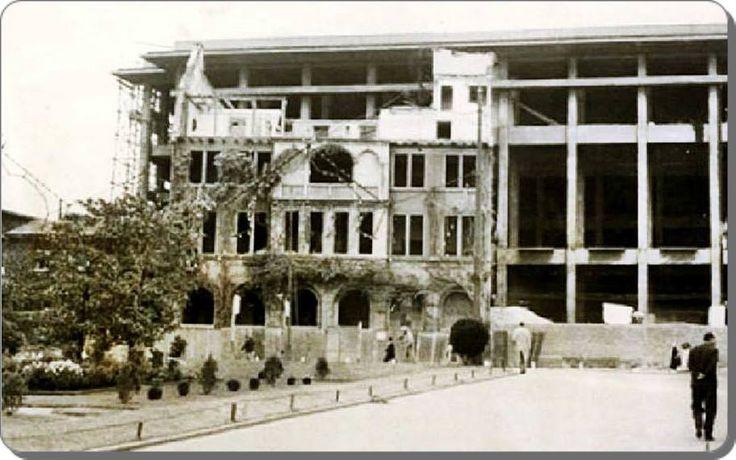Taksim, Atatürk Kültür Merkezi inşaatı - 1950 ler