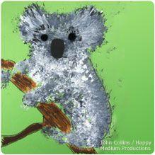 Koala Painting - National Wildlife Federation