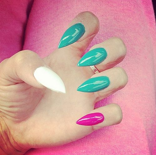 Copycat Claws Blue Color Block Nail Art: 422 Best Images About Nail Polish Fanatic On Pinterest