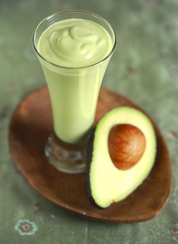 Sinh to Bo - Vietnamese Avocado Smoothie Milkshakes, LOVE this stuff, its sooo yummy! & avocado is really good for your skin! :)