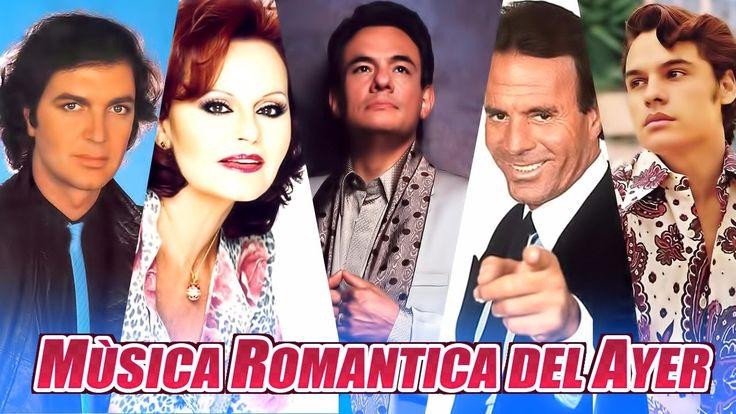 Musica Romantica Del Ayer V21 Julio Iglesias, JuanGabriel, Jose Jose, Ro...