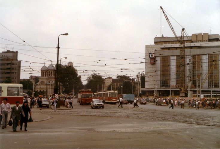 Piata Uniri - vara 1985