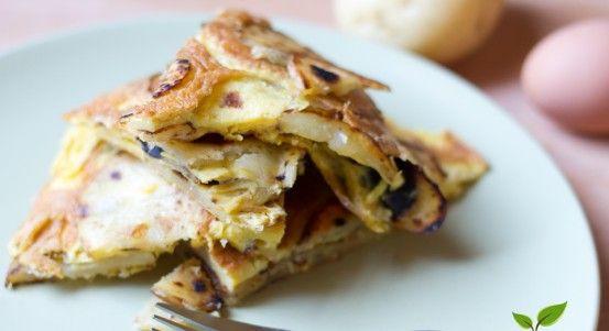 Tortilla di patate vegan - le ricette di lacucinavegetariana.it