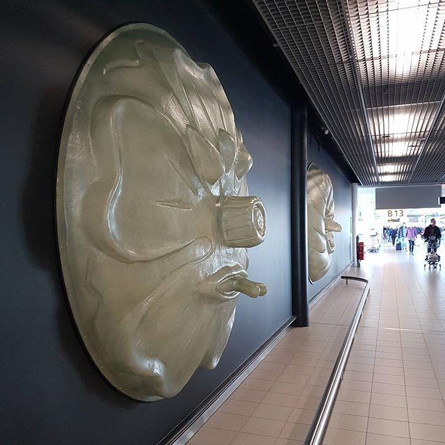 Это - произведение искусства, называется Четыре Сезона. Два других сезона напротив висят.#голландия #нидерланды #амстердам #аэропорт #полет #дорога #путешествия #турист #туризм #самолет #отпуск #nofilter #nederland #niederlande #netherlands #amsterdam #travel #tourist #tourism #airport #schiphol #art #голландия #нидерланды #амстердам #аэропорт #полет #искусство
