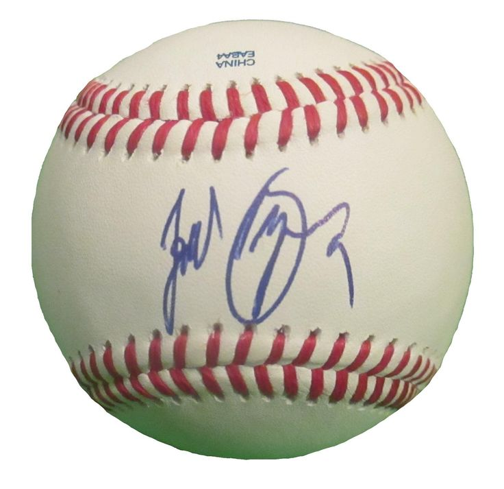 SD Padres Jedd Gyorko signed Rawlings ROLB leather baseball w/ proof photo.  Proof photo of Jedd signing will be included with your purchase along with a COA issued from Southwestconnection-Memorabilia, guaranteeing the item to pass authentication services from PSA/DNA or JSA. Free USPS shipping. www.AutographedwithProof.com is your one stop for autographed collectibles from San Diego Sports teams. Check back with us often, as we are always obtaining new items.