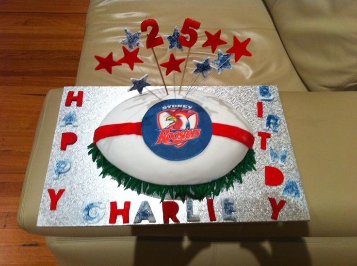 Football cake (happy b'day Charlie)
