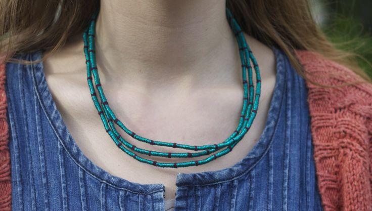 S jo 's, Zohra bracelet worn as a necklace.