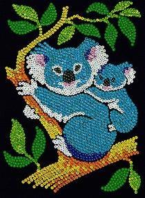 Sequin Art Junior Koala Bears 0712 from KSG | Hobbies