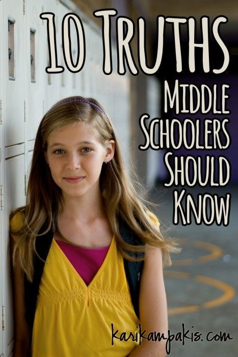 These 10 Truth Bombs for Middle Schoolers Will Be Total Lifesavers for Your Kiddo | For Every Mom