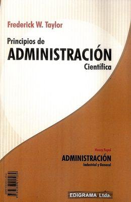 Principios de la administracion cientifica | taylor/fayol