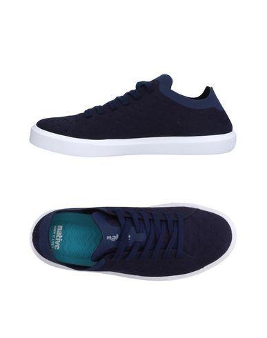 ba2b499ebd04 NATIVE Men s Low-tops   sneakers Dark blue 10.5 US