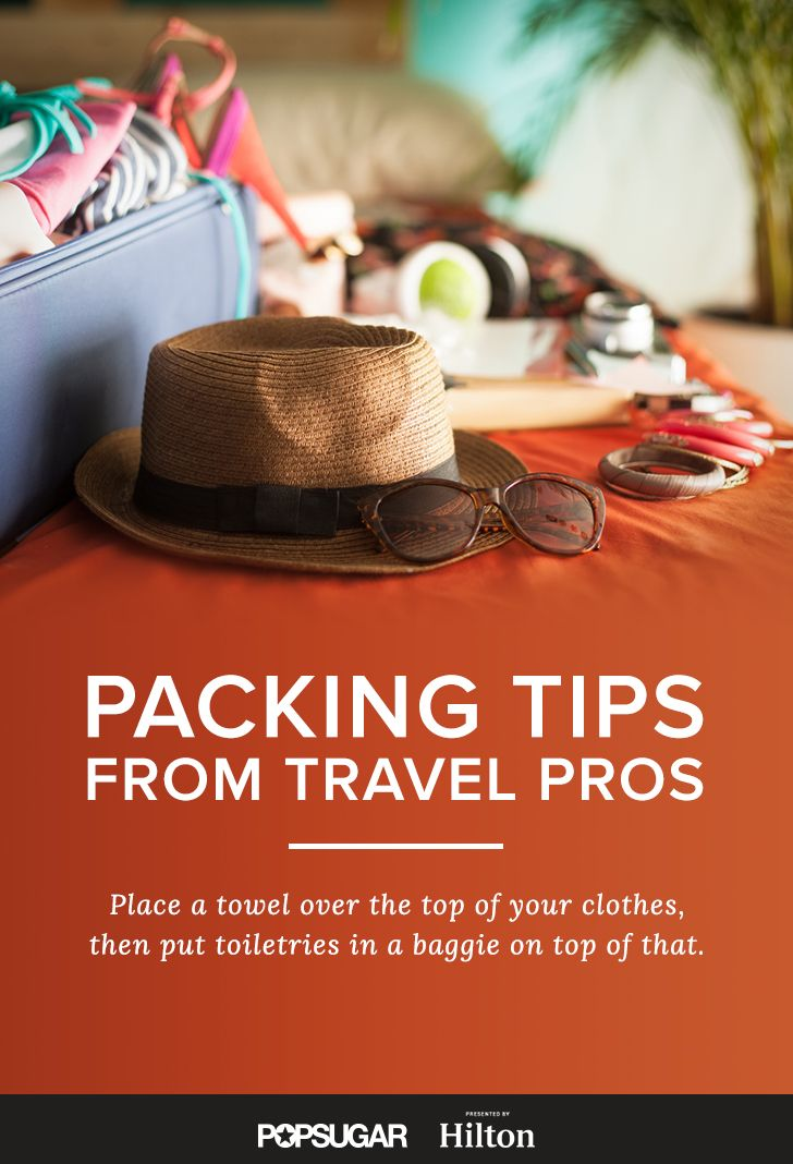 Get packing ... the right way with these pro packing tips!