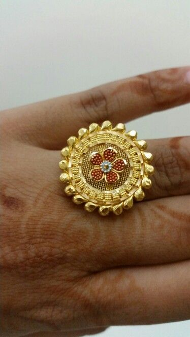 Traditional Indian finger ring... @Malabar gold ...