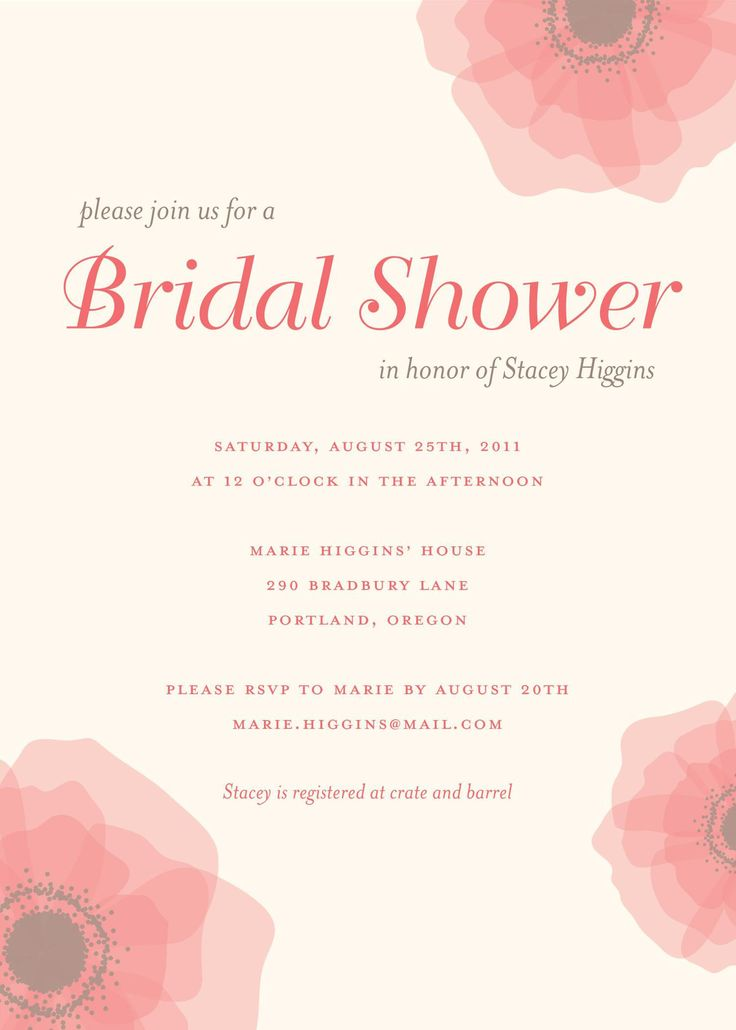 149 best bridal shower invitations images on pinterest for Walmart wedding shower invitations