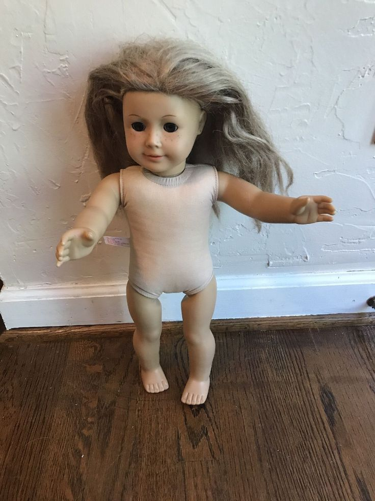 American Girl Doll Needs TLC Play Condition Blond Hair Brown Eyes hair is rough   eBay