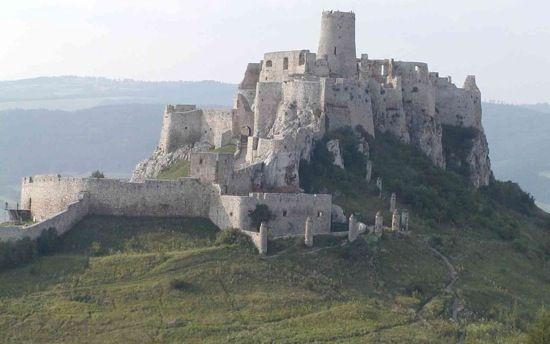 Cachtice Castle. Elizabeth Bathory home.