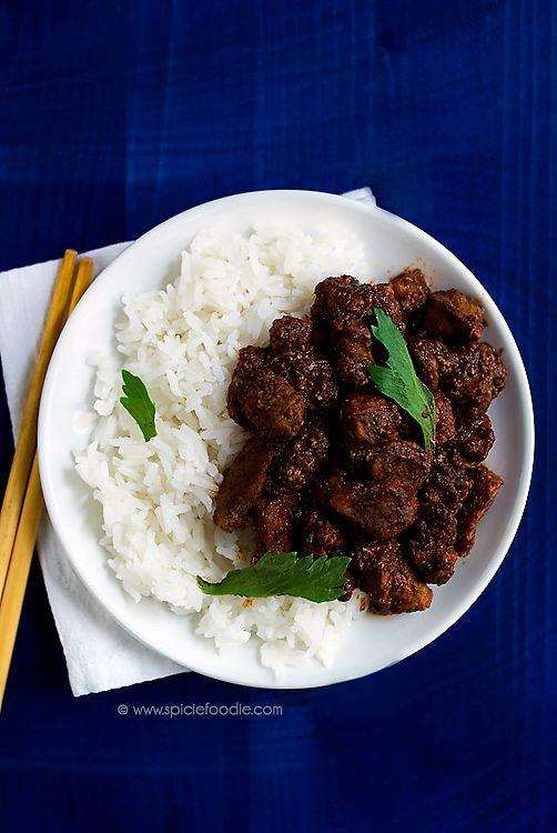 Indonesian Rendang  | #IndonesianFood #beef #meat #Rendang