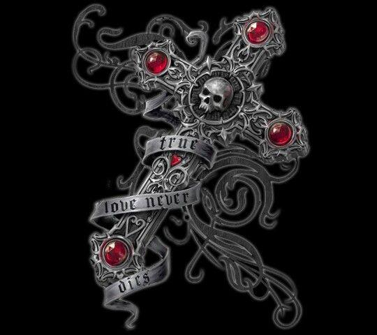 Love Never Dies Iphone Wallpaper : True love never dies! love and stuff Pinterest True love, Skulls and Nice