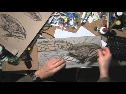 AWESOME COLLOGRAPH VIDEO