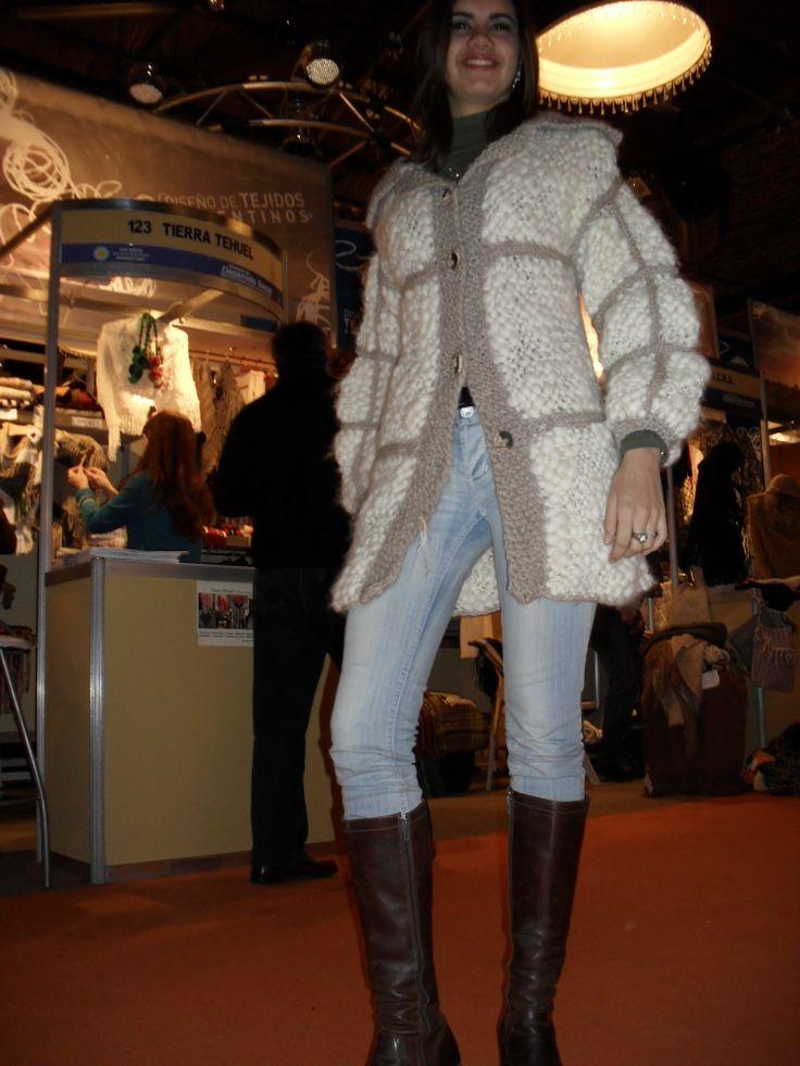 saco pura lana