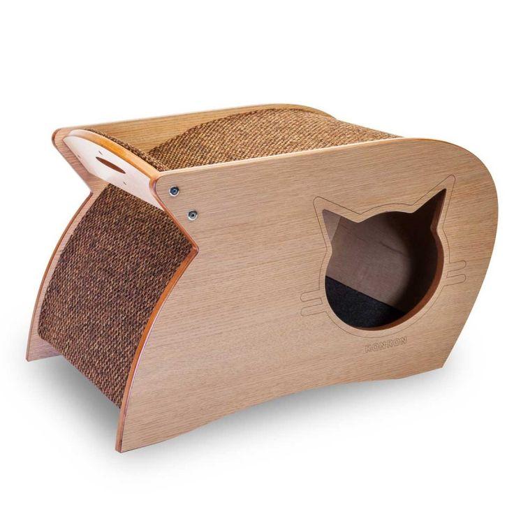 5300 best cat furniture images on pinterest - Cama para gato ...