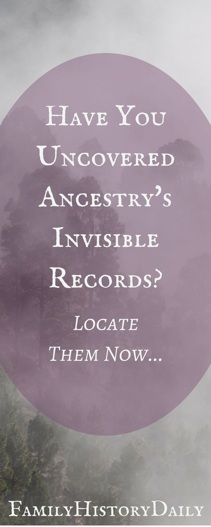 Uncovering Ancestry's 'invisible' records could boost your genealogy research and improve your family tree. #familytree #ancestry