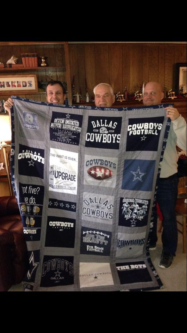 Dallas Cowboys T-Shirt quilt