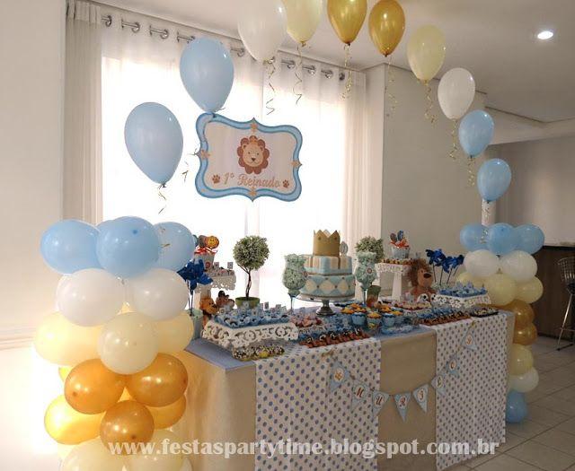 Party Time: Festa tema Leão