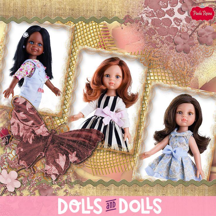 Cleo, Carol y Cristi han pasado un divertido domingo. Aprovechando el buen tiempo y que lucían su vestido favorito, se han hecho una foto como recuerdo de este gran día que han pasado. Estas simpáticas y adorables #muñecas son de la colección #LasAmigas de #PaolaReina y están deseando conocerte para divertirse contigo. ¡Contágiate de energía con ellas! 🚚 Si haces el pedido en DollsAndDolls, lo recibirás en 24/48 horas. 🚚 #Dolls #PaolaReinaDolls #DollsMadeInSpain #Bonecas #Poupées #Bambole