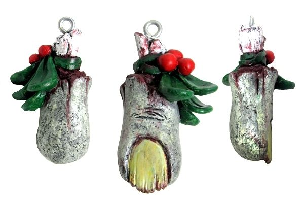 Zombie Mistletoe – Christmas Ornament