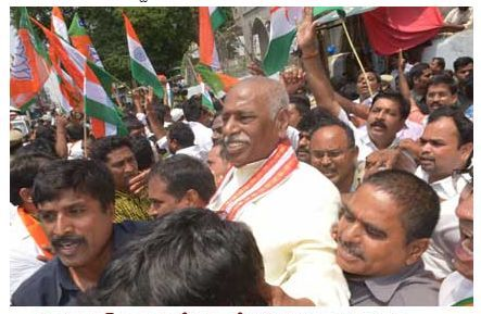 BJP national vice president Bandaru Dattatreya said that TRS party will remain in the history of Telangana as a party which betrayed Telangana movement and people. He said KCR not allowing BJP to hoist the national flag on September17, on the occasion of Telangana liberation day, is a real traitor to the state.