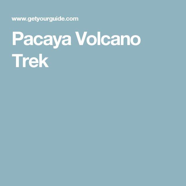 Pacaya Volcano Trek